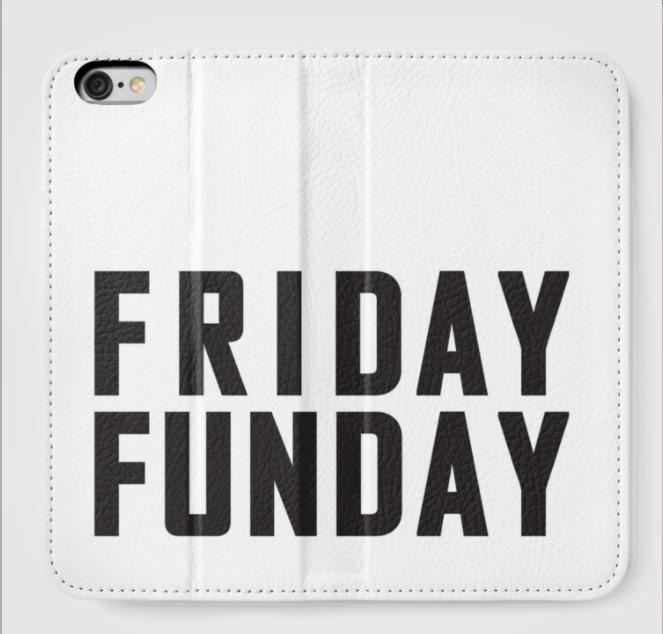 Friday Funday mobile sleeve