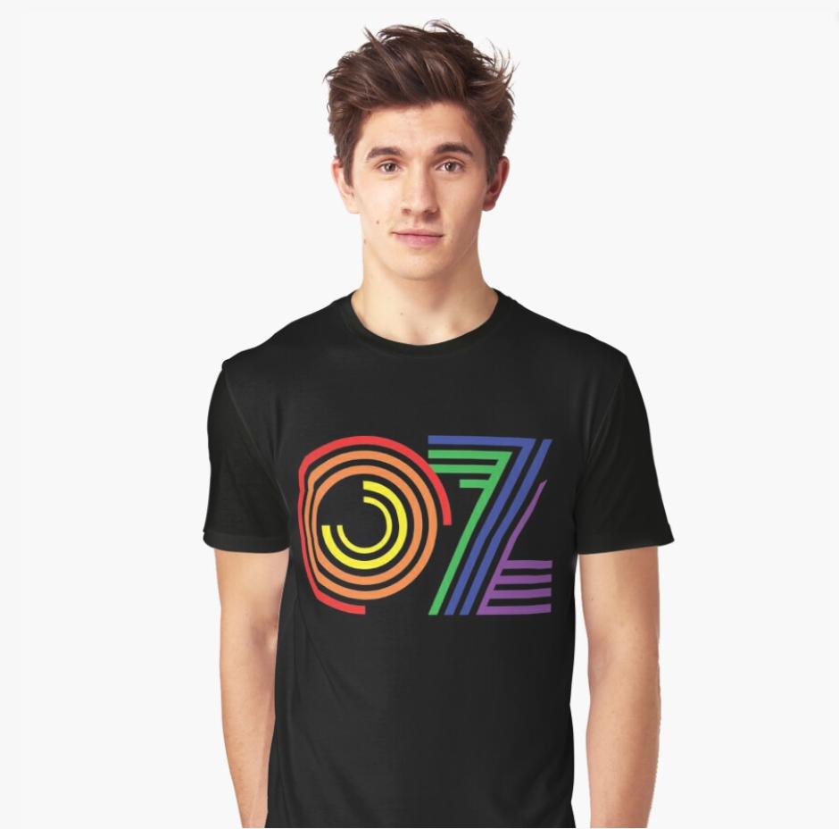 OZ Rainbow tee