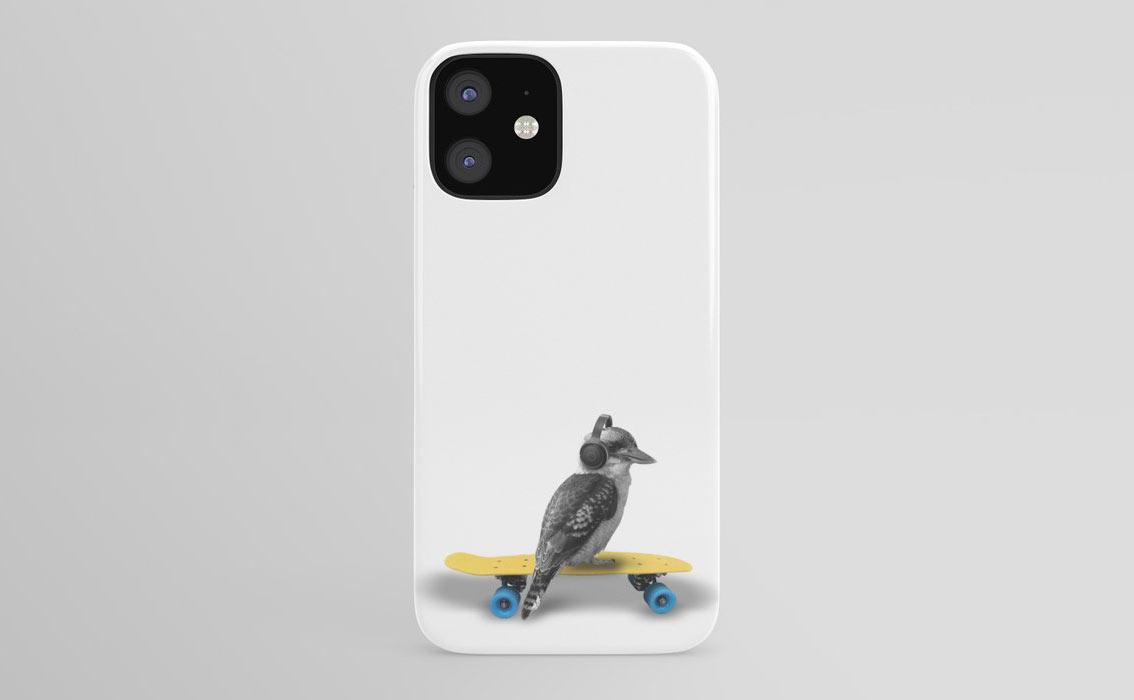 kookaburra skateboarding